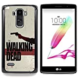 - The Walking Zombies/ Hard Snap On Cell Phone Case Cover - Cao - For LG G Stylo / LG LS770 / LG G4 Stylus