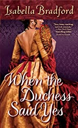 When the Duchess Said Yes (The Wylder Sisters Book 2)