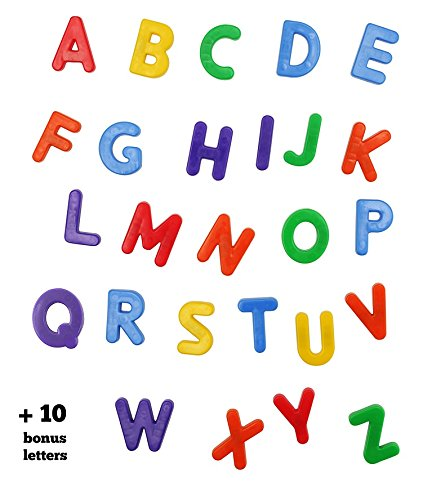 ABC-Capital-Magnets-36-Uppercase-Alphabet-Magnetic-Letters-by-EduKid-Toys