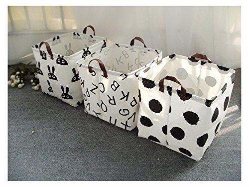 Gelaiken Lightweight Rabbit Square Storage Box Desk Storage Box Holder Jewelry Stationery Cosmetic Case Sundries Storage Box(White) by Gelaiken (Image #1)'