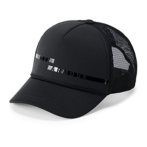 Under Armour Mesh Visor - Under Armour Women's Graphic Trucker Cap, Black (001)/Black, One Size