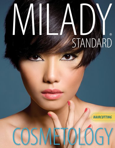 Haircutting for Milady Standard Cosmetology 2012 (Milady's Standard Cosmetology)
