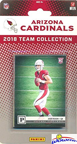 b62c9e60 Arizona Cardinals 2018 Panini NFL Football Factory Sealed Limited Edition  13 Card Complete Team Set with CANVAS Rookie of JOSH ROSEN & David Johnson,  ...