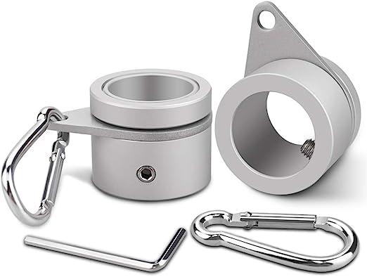 2 unidades Aleación De Aluminio Poste de bandera anillos, bonytek ...