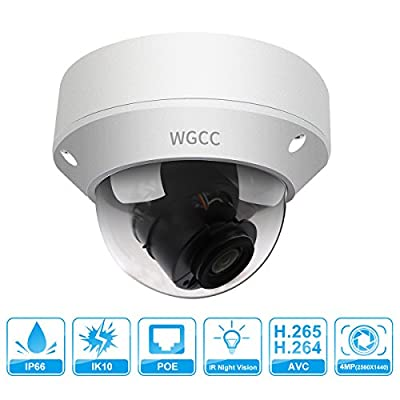 IP Poe Dome Camera 4MP from WGCC