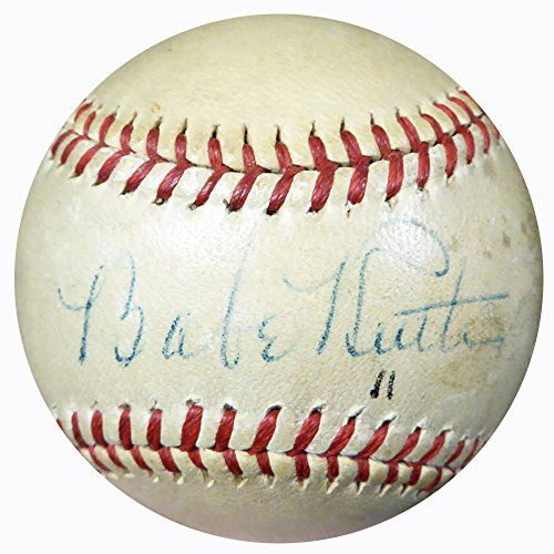Babe-Ruth-Autographed-Official-AL-Harridge-Baseball-New-York-Yankees-PSADNA-M09954