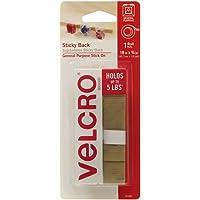 """VELCRO Brand - Sticky Back - 18"""" x 3/4"""" Tape - Beige"""