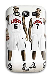 Hot Tpye Lebron James Deron Williams Nike Basketball Kevin Durant Kobe Bryant Usa Nba Case Cover For Galaxy S3