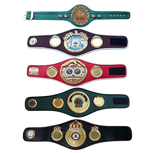 WBC WBA WBO IBF IBO Championships Boxing Belt Replica Mini 5 Belts