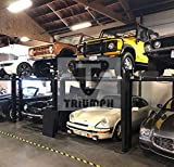 TRIUMPH NSS-8 8000Lbs 4 Post Storage Service Car