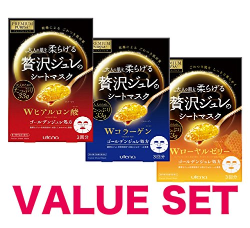 PREMIUM PUReSA collagen hyaluronic 3sheets product image