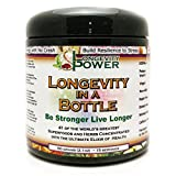 Cheap Longevity in a Bottle, 41 of the world's greatest superfoods and herbs concentrated into the ultimate elixir of health, 15 servings, 60g (2.1oz)