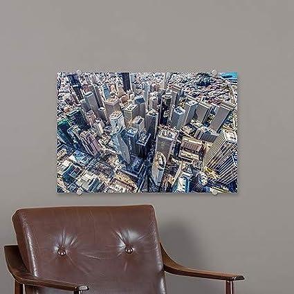27x18 CGSignLab Copterpilot PhotographySan Francisco Downtown Premium Acrylic Sign