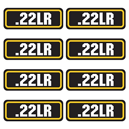 AZ House of Graphics 22LR Ammo Sticker 8 Pack ()