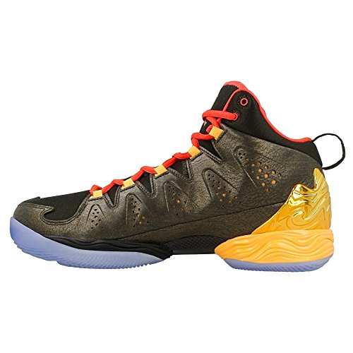 Nike - Melo M10 All Star - 656325323 - Couleur: Doré-Marron-Rouge - Pointure: 40.0