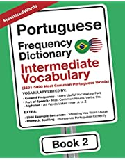 Portuguese Frequency Dictionary - Intermediate Vocabulary: 2501-5000 Most Common Portuguese Words