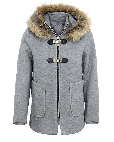 Girogama - Abrigo - capa - para mujer gris