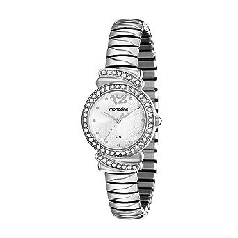 eedcdf21e62 Relógio Mondaine Feminino Analógico Prata 83261L0MVNE2  Amazon.com ...