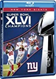 NFL Super Bowl XLVI Champions: 2011 New York Giants [Blu-ray]