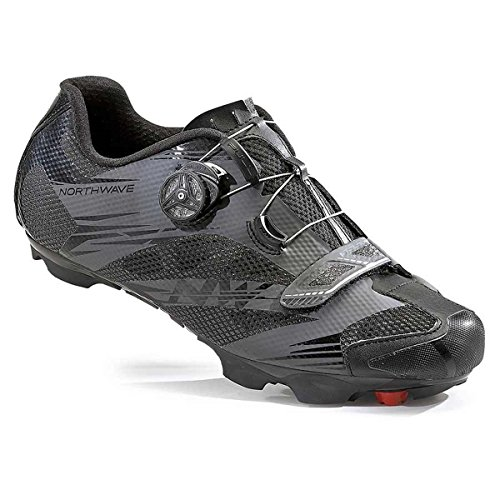 Northwave Man Mtb Xc Chaussures Scorpius 2 Plus Large Noir / Gris Anthracite