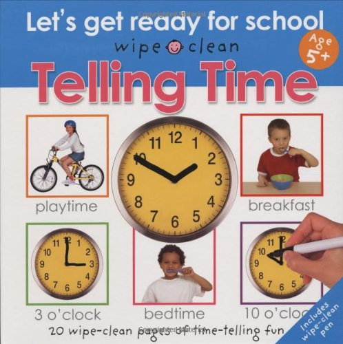 Wipe Clean Telling Ready School product image