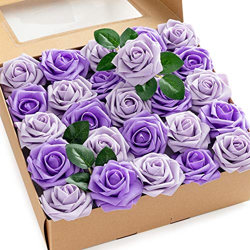 Calculs Multicolored 3' Artificial Flowers for Party Wedding...