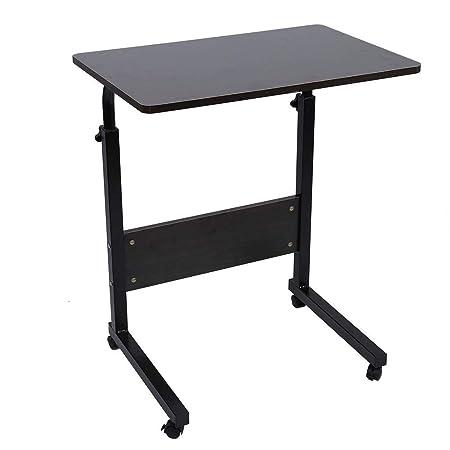 Mesa Móvil para Ordenador Portátil Laptop, Escritorio Ajustable ...