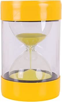 Perfect for Teachers Classrooms Home Or Office Decor 5 Minutes Height 16cm Large Sand Timer in Safecase