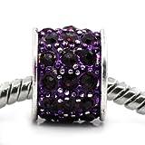 SEXY SPARKLES Women's Resin Lantern Bead For Charm Purple