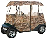 Classic Accessories Fairway Deluxe 4-Sided 2-Person Golf Cart Enclosure, Camo