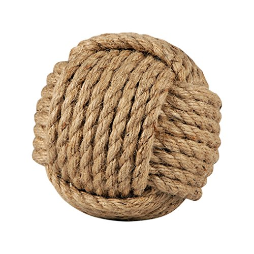 Traditional Décor Collection Sailors Knot Decorative 4-Inch Sphere