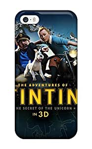 Awesome Case Cover/iphone 5/5s Defender Case Cover(the Adventures Of Tintin 3d) by lolosakes