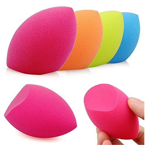 [3Pcs Makeup Sponge Blender Foundation Powder Puff Flawless Blending Cosmetic Puff Makeup Tools Beauty Egg Facial Make Up] (Loofah Halloween Costume)