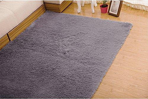 Best Tojwi Super Soft Modern Shag Area Rugs Living Room