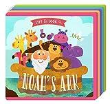 Bible Lift & Look Foam Book (2-Book Set): The Creation and Noah's Ark