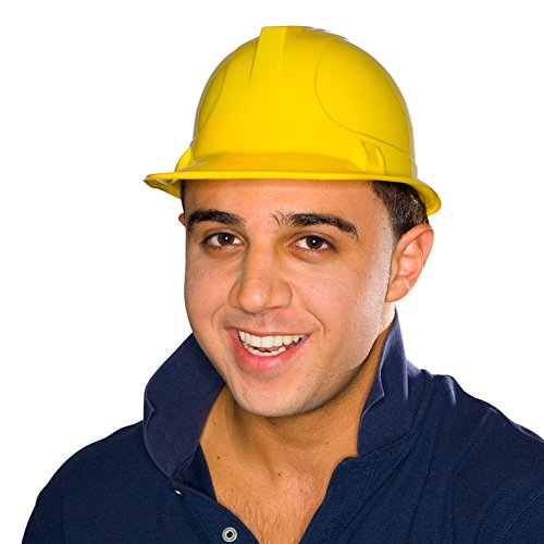 YELLOW CONSTRUCTION HATS DOZEN 25 1615