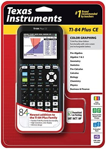 Texas Instruments TI 84 Graphing Calculator product image