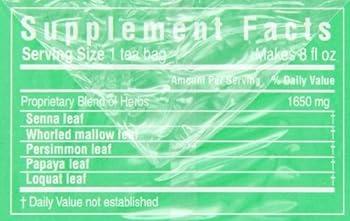 Triple Leaf Tea, Ultra Slim, 20 Tea Bags (Pack Of 6) 1