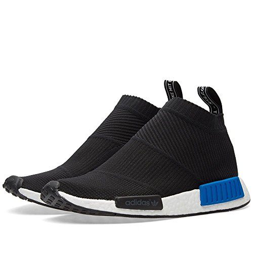 b14c4850dc276 Mens Adidas NMD CS1 PK Nomad City Sock Primeknit Black Blue White ...