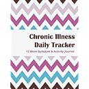 Chronic Illness Daily Tracker: 12 Week Symptom & Activity Tracker - Cotton Candy