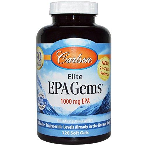 Cheap Carlson Epa Gems, 120 Softgels