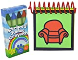 : Handcrafted Handy Dandy inspired Steve Notebook and Crayons