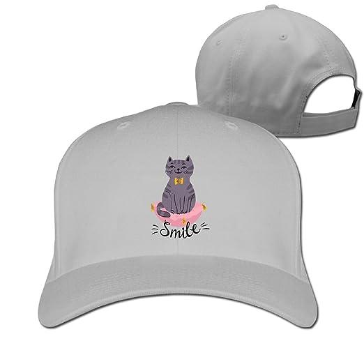 71ac8850775 Cartoon Cat Baseball Caps Classic Top Level Snapback For College Students