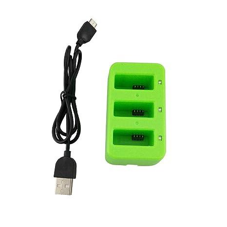 Drone RC Lipo batería USB cargador, 3 en 1 Balance USB batería de ...