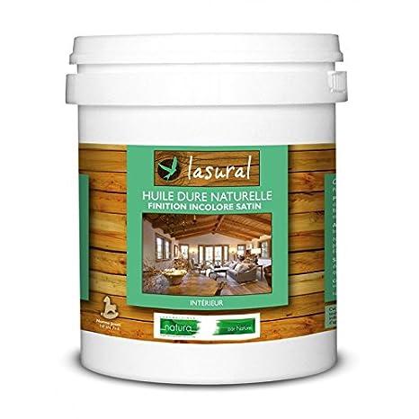 Aceite para acabado satinado, color incoloro, 1l, Lasural, laboratorios Natura: Amazon.es: Bricolaje y herramientas