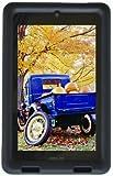 Bobj Rugged Case for ASUS MeMO HD 7 Models ME173X, ME173L, K00B (Not for MeMO 7 LTE) - BobjGear Protective Tablet Cover (Batfish Blue)