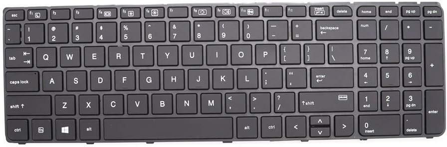 New Backlit Laptop Keyboard for HP Probook 450 G3 G4 455 G3 G4 470 G3 G4 US 827029-001 837551-001 9Z.NCGBQ.301 AEX63U01110 NSK-CZ3BQ 01.