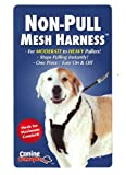 11103 Canine Concepts Non-pull Large Xl Black Mesh Dog Harness, My Pet Supplies