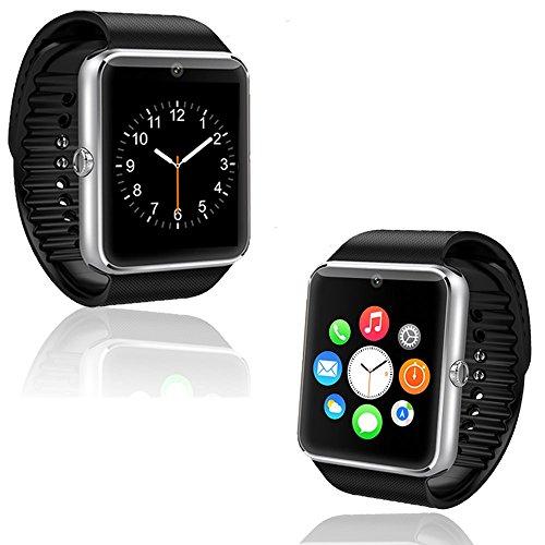 Indigi UNLOCKED! GSM Touch Screen Bluetooth Camera Smart Watch Phone - Great Gift! by inDigi