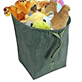 Mokylor Reusable Garden Bags, Yard Lawn Pool Garden Leaf Waste Bag, Debris Container, Heavy Duty Gardening Bags for Collecting Leaves